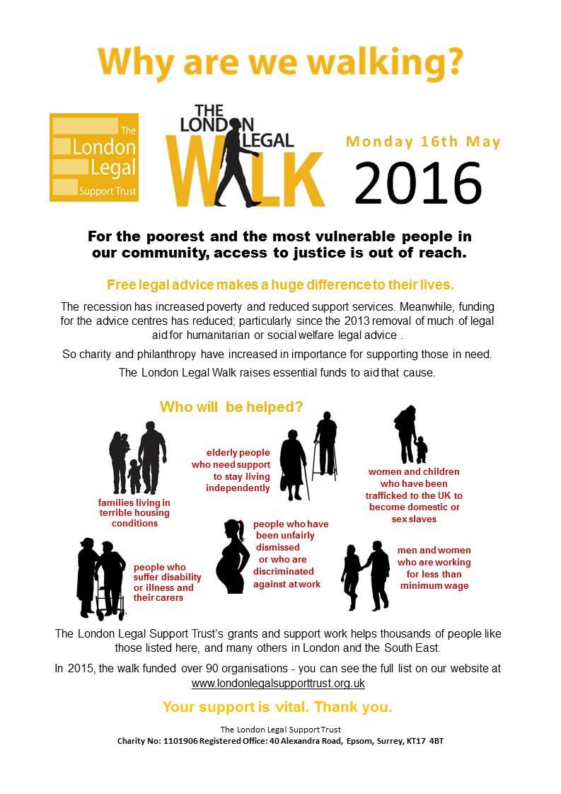 Why We Walk LLW 2016